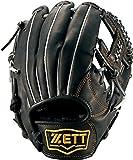 ZETT(ゼット) 野球 少年用 軟式 グラブ グランドヒーローライジング オールラウンド用 Mサイズ ブラック BJGB71610 1900 LH