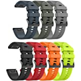 ANCOOL Compatible Forerunner 935 Band Easy Fit Mechanism Replacement Silicone Watch Bands for Garmin Forerunner 935/Fenix 5/F