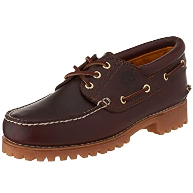 3-Eye Classic Lug Shoes: 50009 Burgundy Pull Up