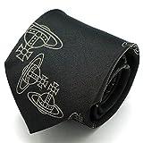 (ヴィヴィアンウエストウッド)Vivienne Westwood ネクタイ 909013-c27-6 ブラック系 剣先8.5cm [ウェア&シューズ] [並行輸入品]