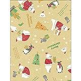 タカ印 ラッピングペーパー クリスマス 包装紙 49-4557 スノッフランド 全判 10枚巻
