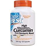 Doctor's Best Curcumin High Absorption, 500mg, 120ct