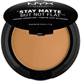 NYX PROFESSIONAL MAKEUP Stay Matte But Not Flat Powder Foundation, Deep Golden