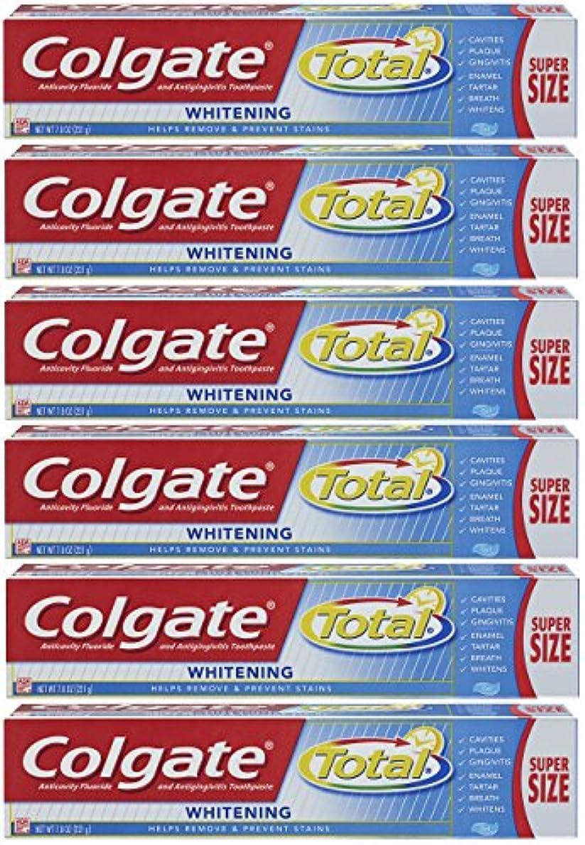 ふくろうパートナー啓発するColgate トータルホワイトニングジェル歯磨き - 7.8オンス(6パック)