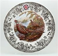 Queen 's Dinner Plates Quintessentialゲームコレクション( Pheasant ) /セットの4