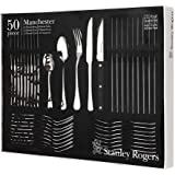 Stanley Rogers Manchester 50-Piece Cutlery Set