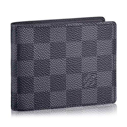 ルイヴィトン LOUIS VUITTON 財布 二つ折り財布 メンズ マネークリップ ポルトフォイユ・パンス ダミエ・グラフィット N41623