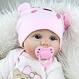 CeRui 赤ちゃん リボーンドールデビュー ビニールリアル 赤ちゃんお世話セット リボーンベビー ドールソフトシリコ 気ラブリーリアル 人形セット 55センチ