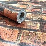 sac taske はがせる 壁紙シール &取付道具 & 貼り方説明書 セット かんたん DIY (アンティコ)の写真