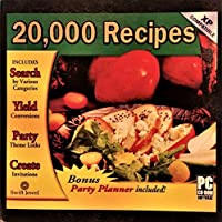 20000 Recipes (Bonus: Party Planner Included) [並行輸入品]