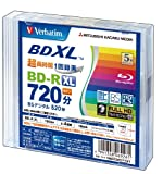 三菱ケミカルメディア Verbatim 1回録画用 BD-R XL VBR520YP5V1 (日...