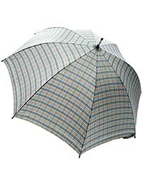 マサキ 雨傘 レディース傘 長傘(60cm) 先染めチェック柄 コードレース付き 161202