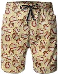 野球 メンズ サーフパンツ 水陸両用 水着 海パン ビーチパンツ 短パン ショーツ ショートパンツ 大きいサイズ ハワイ風 アロハ 大人気 おしゃれ 通気 速乾