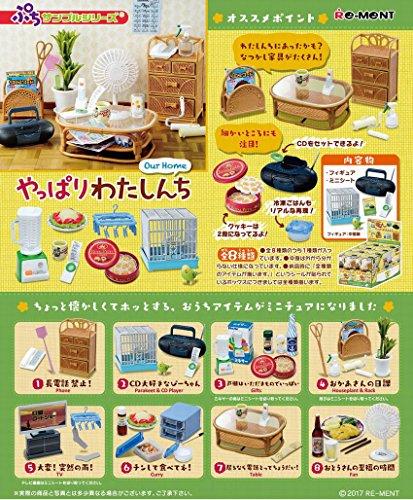 ぷちサンプル やっぱりわたしんち(仮) BOX商品 1BOX = 8個入り、全8種類