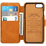 アイフォン用財布 iPhone6/6S/7レザーケース カード入れ 耐衝撃カバー 耐摩擦 全面保護 プレゼントに最適