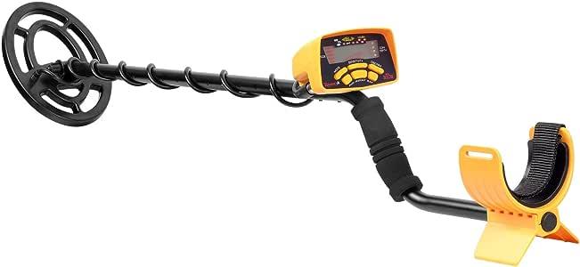 SHUOGOU MD6250 高感度金属探知機 調節可能なステム 防水 LCD液晶搭載 危険物紛失物検索 検出 深さ検出 トレジャーハンター 簡単操作 持ち運び簡