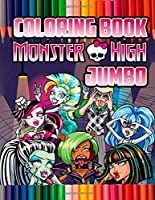 Monster High Coloring Book: Super Fun Coloring Book For Kids and Adults