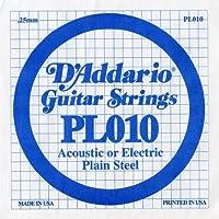 D'Addario/ダダリオ PL010×20本 エレキ/アコギ バラ弦 1弦
