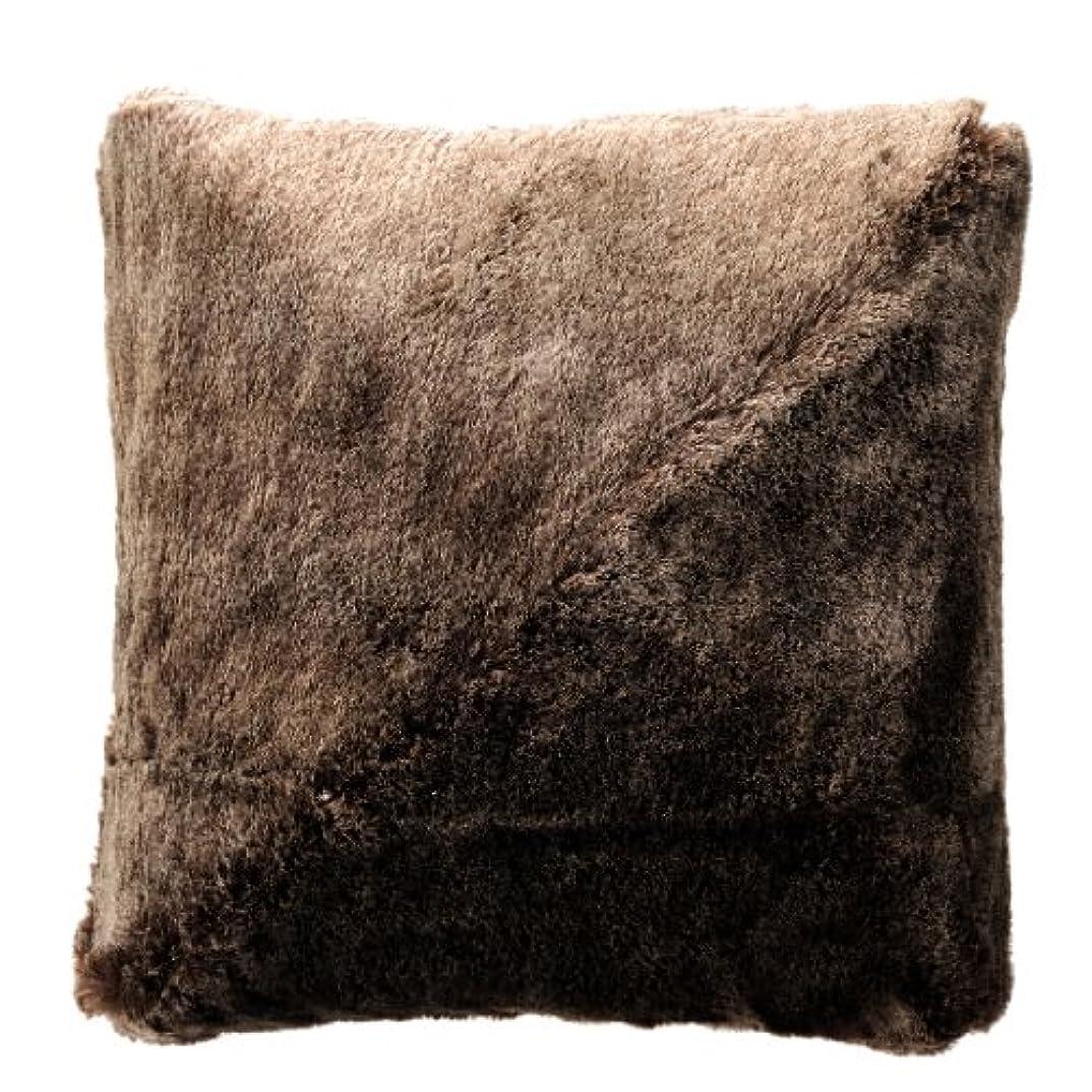 きょうだい粘性のウェブATEX ルルド マッサージクッション チョコブラウン (ふわもこ生地Ver.) AX-HL148fcb