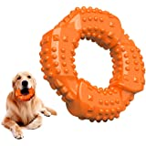 Feeko Dog Toys for Aggressive Chewers Large Breed, Natural Rubber Long Lasting Dog Toy, Toughest Puppy Chew Toy for Small Med