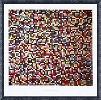 ポスター ゲルハルト リヒター 4096 Farben 2005年 額装品 デコラティブフレーム(ブラック)
