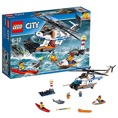 レゴ(LEGO)シティ 海上レスキューヘリコプター 60166
