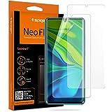 Spigen 【2枚入】 Xiaomi Mi Note 10 Pro/Mi Note 10 フィルム 全面保護 気泡ゼロ Mi Note10 Pro/Mi Note10 液晶保護フィルム ケースと干渉せず TPUフィルム 貼り直しが可能 手触り抜群