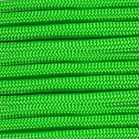 ParacordPlanet 100' 550 Cord Hank of Type III 550 Paracord - Neon Green by PARACORD PLANET