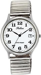 [シチズン Q&Q] 腕時計 Falcon ファルコン D014-204 シルバー