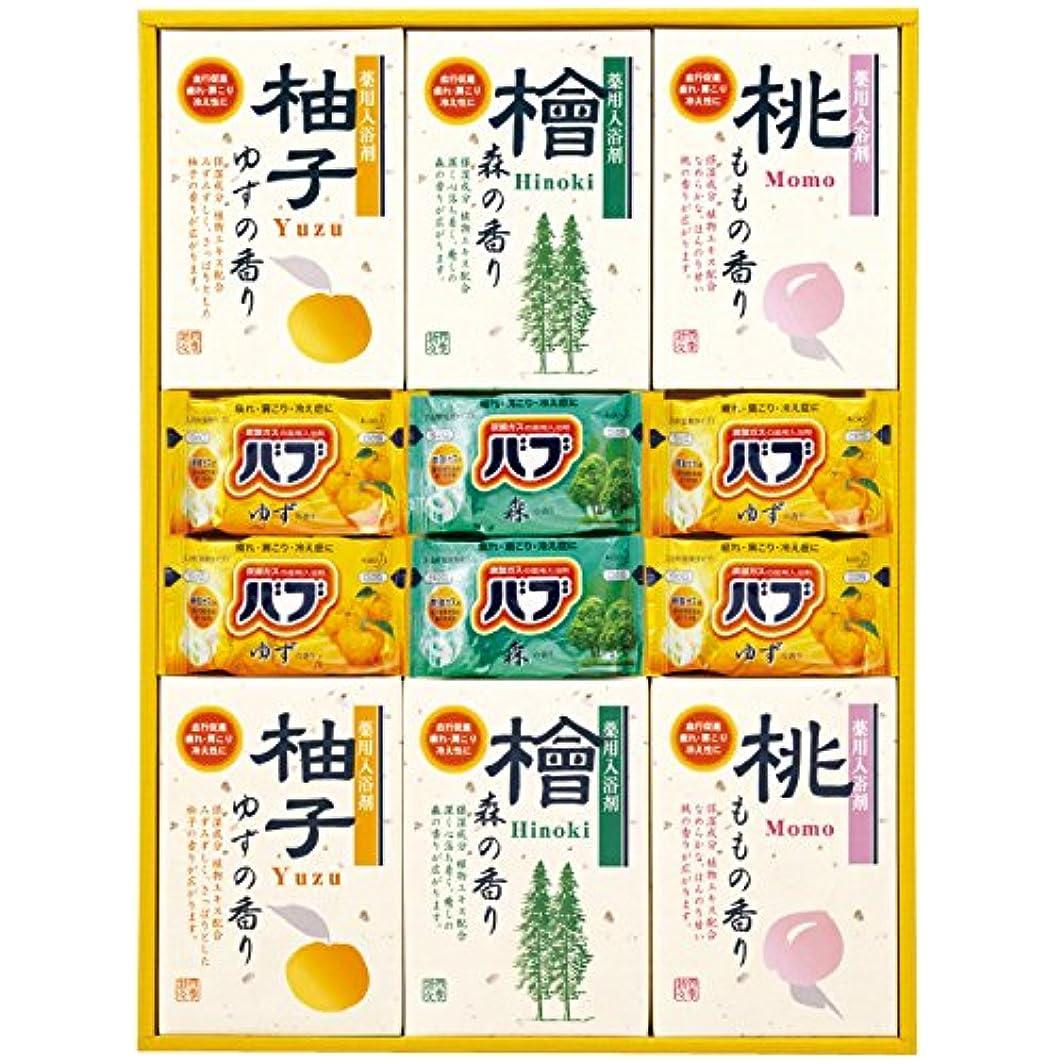 誓う樹皮トロリーバス四季折々 薬用入浴剤セット SB-30 7163-050