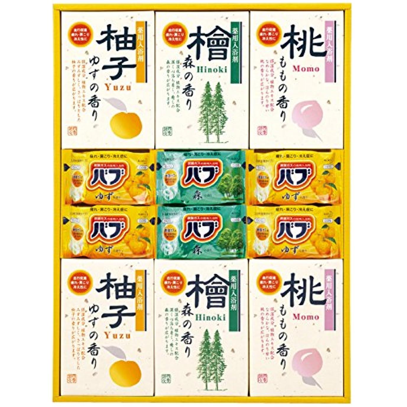 踏み台槍闇四季折々 薬用入浴剤セット SB-30 7163-050