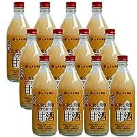 麹甘酒 たまなの甘酒 玄米 500ml×12本 和歌山県産ピロール玄米 国産米麹 アルコールゼロ ノンシュガー