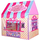 Princess Castle Play Tent Kids Play House Large Indoor/Outdoor Tunnel Pop Up Toys For Baby Parent-child Gift, Summer Shade To