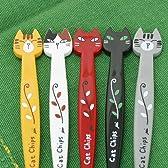 Cat Chips歯ブラシ(キャップ付き)【ミーコ・灰猫】