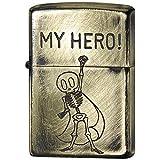 ZIPPO(ジッポー) ライター ゴールド ユーズド フィニッシュ ファニースカル エッチング 2UDB-HERO