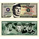 Set of 25 - Leonard Nimoy Star Trek Spock Collectible Million Dollar Bill