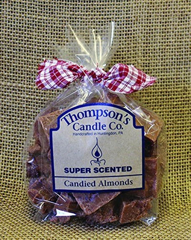 口ひげクレジット直径Thompson's Candle Co Super Scented Crumbles/Tarts/Wax Melts 6 oz Candied Almonds [並行輸入品]
