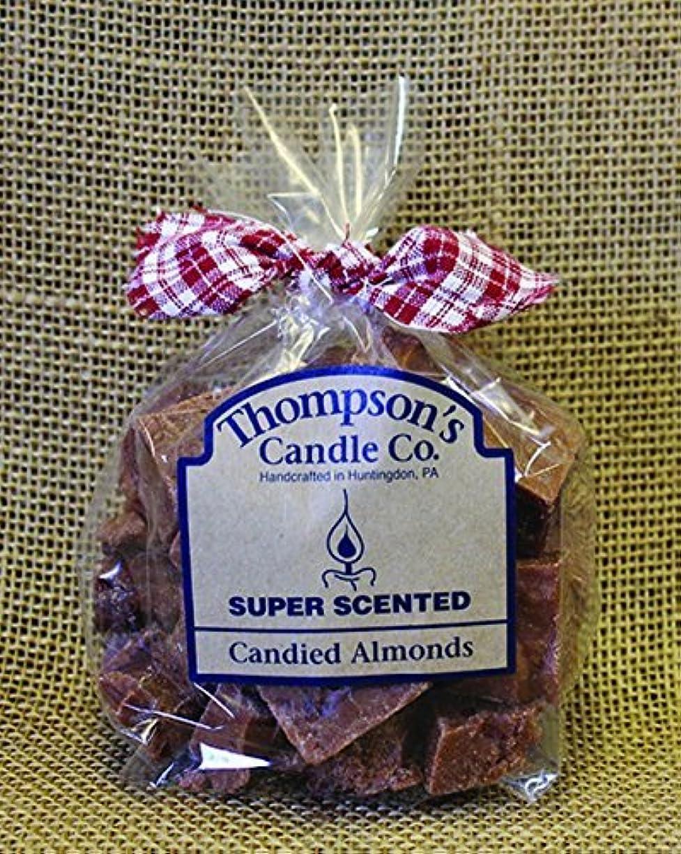 ウガンダ泣き叫ぶ悪因子Thompson's Candle Co Super Scented Crumbles/Tarts/Wax Melts 6 oz Candied Almonds [並行輸入品]