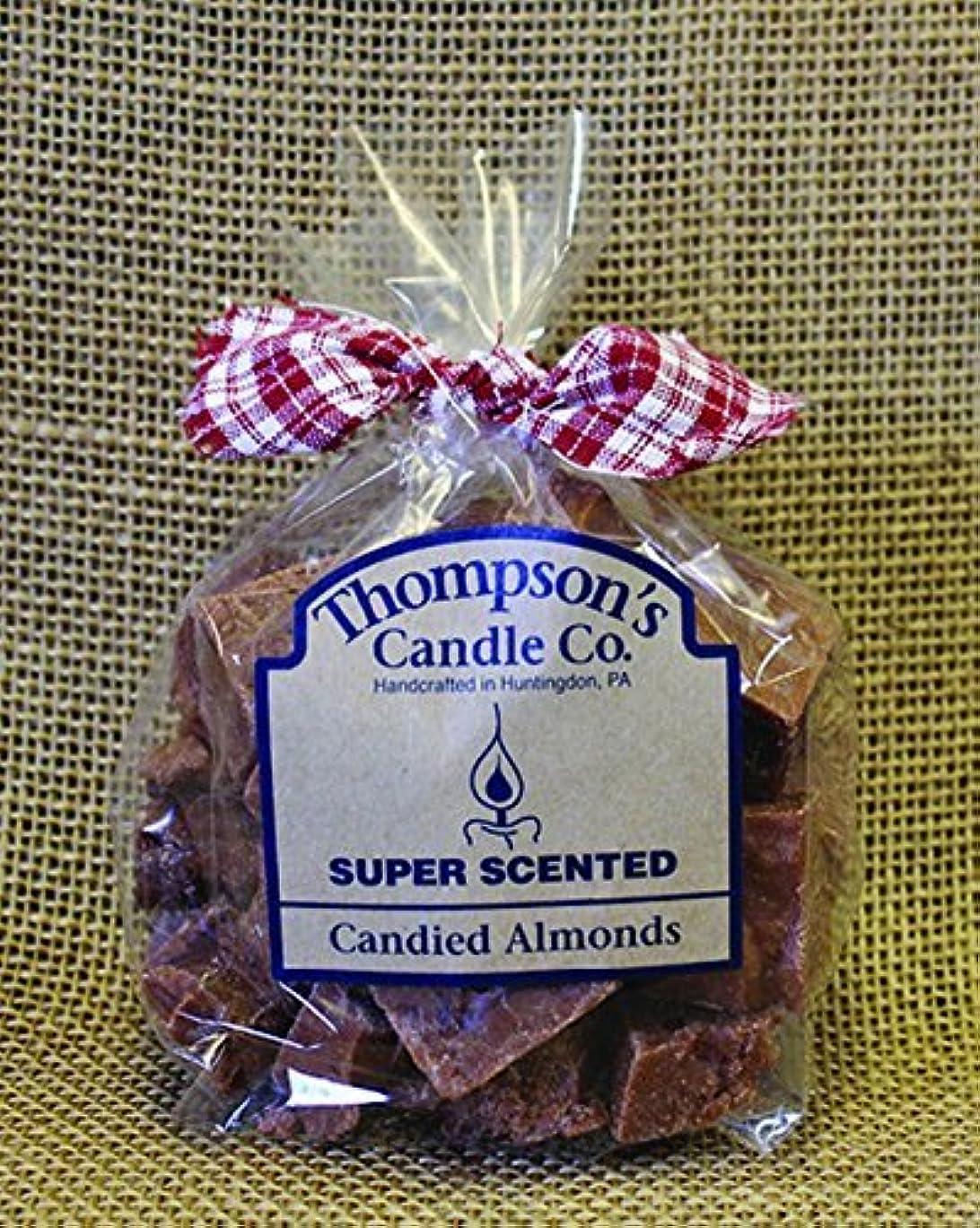 ホームレスジョージハンブリー勝つThompson's Candle Co Super Scented Crumbles/Tarts/Wax Melts 6 oz Candied Almonds [並行輸入品]