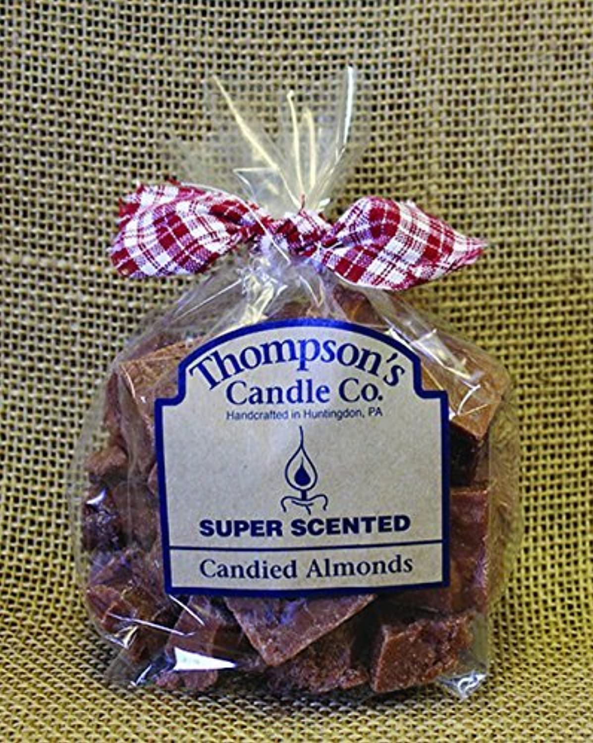 Thompson's Candle Co Super Scented Crumbles/Tarts/Wax Melts 6 oz Candied Almonds [並行輸入品]