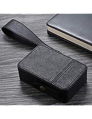 aomashangmao 高級シガレットケース包装イミテーションレザーPUレザーシガレットケース保護カバーレザーケース