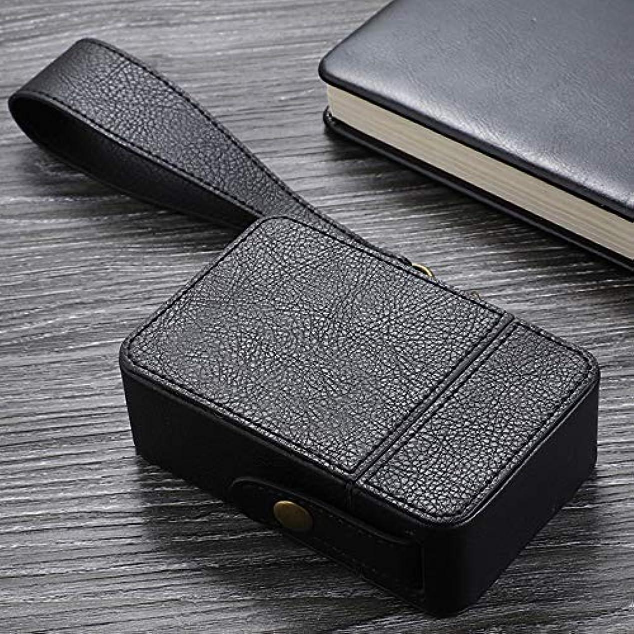異邦人ためらうホイッスルaomashangmao 高級シガレットケース包装イミテーションレザーPUレザーシガレットケース保護カバーレザーケース