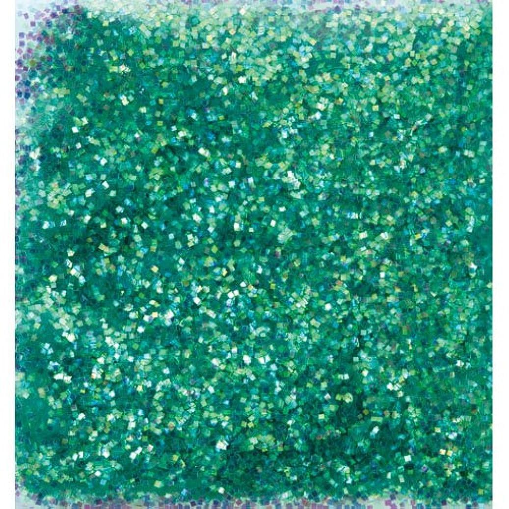 アストロラーベソーダ水直感ピカエース ネイル用パウダー オーロラグリッター M #499 グリーン 1.5g