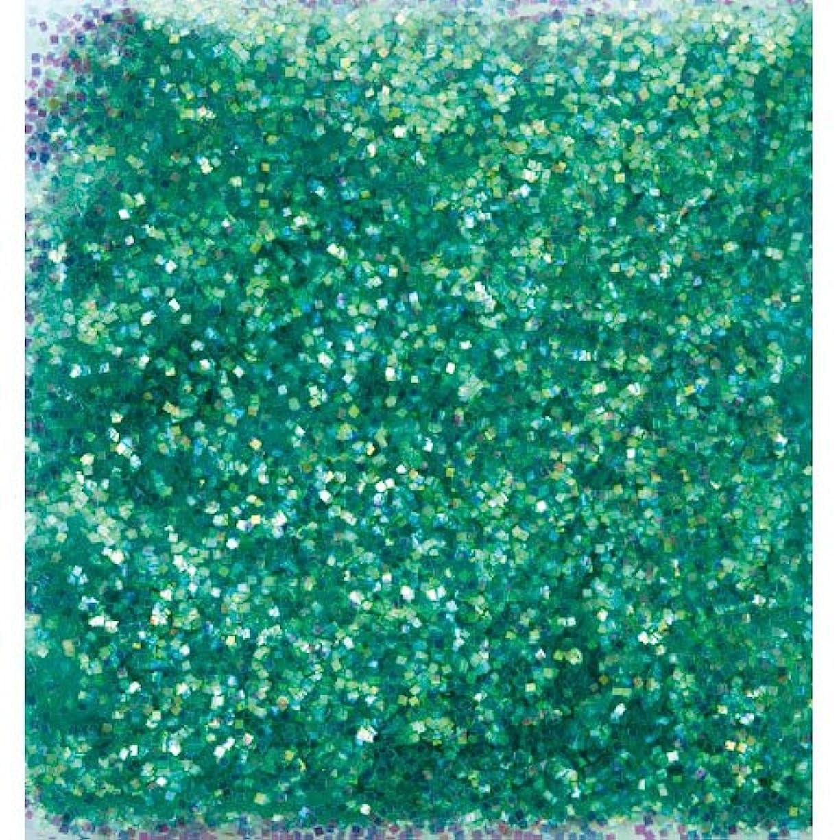 振りかける富鉱夫ピカエース ネイル用パウダー オーロラグリッター M #499 グリーン 1.5g
