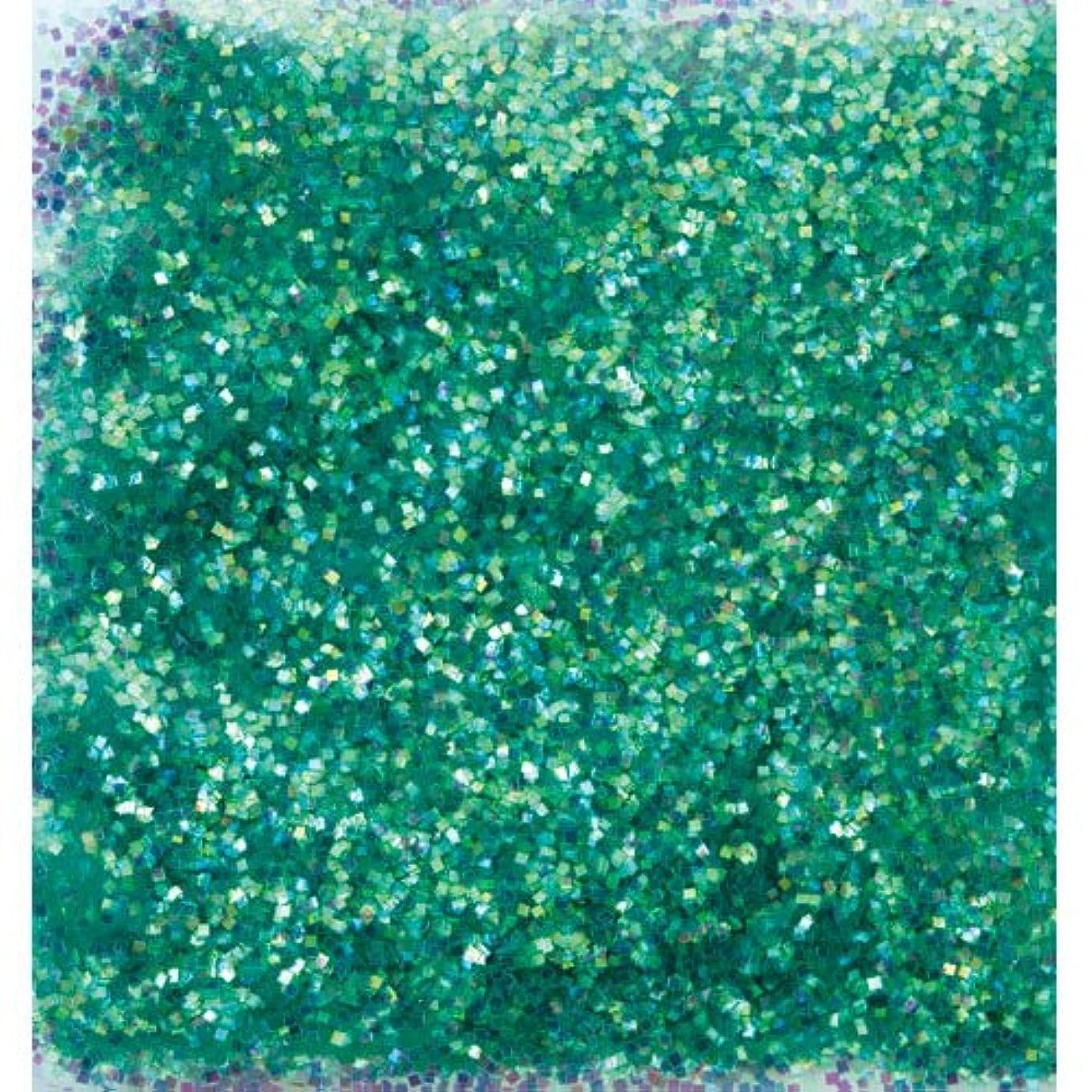 実験ブランク分子ピカエース ネイル用パウダー オーロラグリッター M #499 グリーン 1.5g