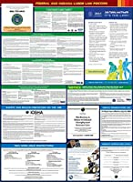 2017 Indiana State and Federal All-in-one Labor Law Poster - English [並行輸入品]