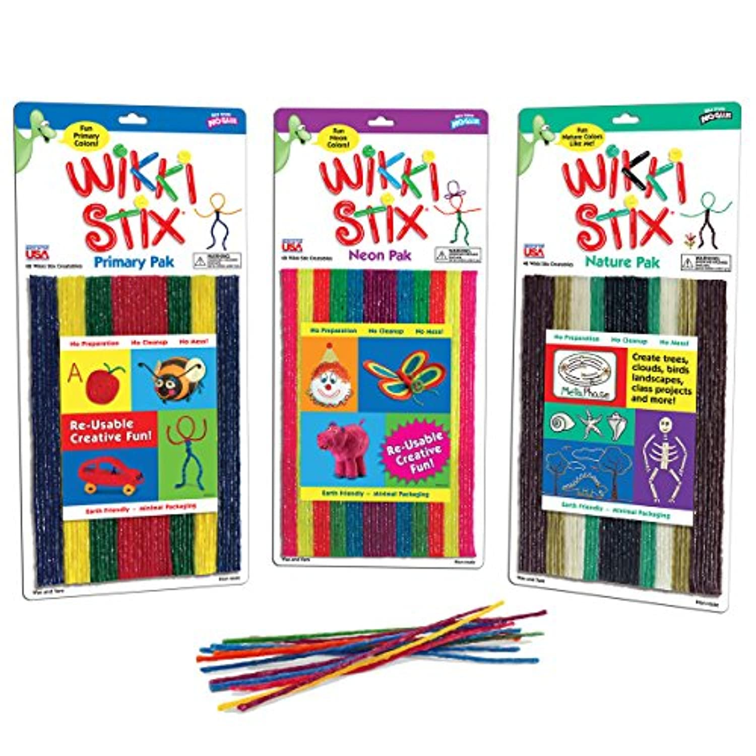 Wikki Stix Triple Play Pack by WikkiStix