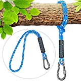 Besthouse Tree Swing Ropes Holds 2500lb Capacity, Hammock Tree Swings Hanging Straps, Perfect for Tire and Saucer Swings, Outdoor Swings Hammock Playground Set Accessories, 1 Pack