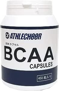 アスリチア BCAAカプセル 450粒入 BCAA CAPSULES