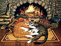 Buffalo Games Charles Wysocki Cats: All Burned Out 750 Piece Jigsaw Puzzle by Buffalo Games Model: 17076